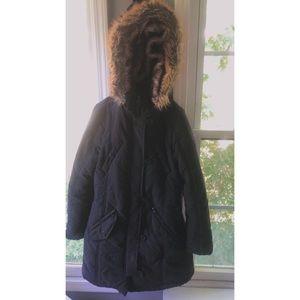 Urban Republic Faux-Fur-Trim Quilted Jacket
